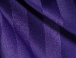 Purple Royal Satin Stripe