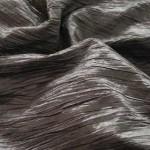 Charcoal Crushed Taffeta