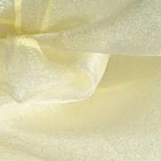 Pale Yellow Organza