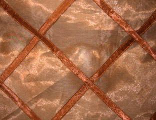 Brown Ariel Lattice Overlay