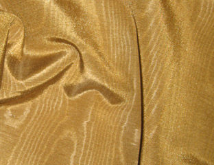 Gold Bengaline Moire