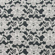 Ivory French Floral Lace