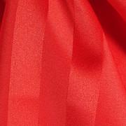 Red Royal Satin Stripe