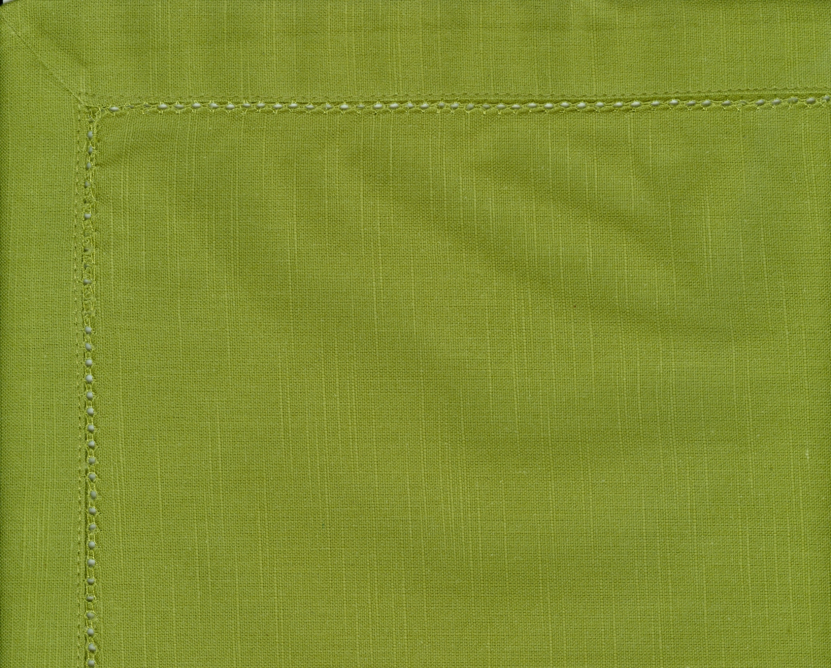 Avocado Hemstitch Napkin