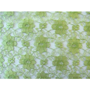 Avocado French Floral Lace