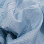 Light Blue Crushed Taffeta
