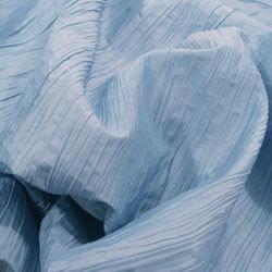 Light Blue Crushed Taffeta