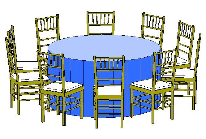 60 Round Seats 8 10 Ppl Tesoro Event Rentals