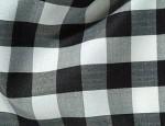 Black & White Gingham Check