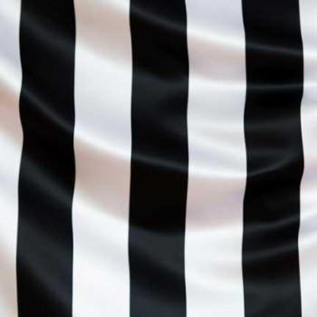 Black & White Tiffany Stripe