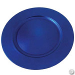 Blue Acrylc Charger Plate