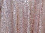 Blush Sequin Traffeta