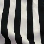 Canopy Stripe Black White