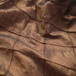 Copper Diamond Traffeta