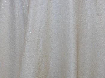 Ivory Sequin Taffeta