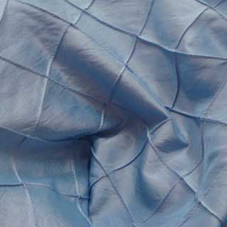 Light Blue Diamond Taffeta