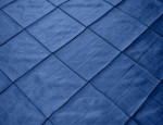 Navy Diamond Taffeta