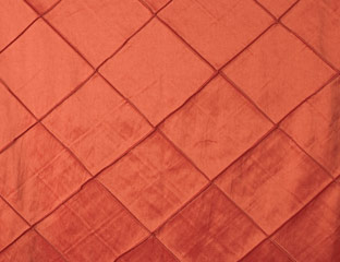 Orange Diamond Taffeta