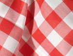 Red & White Gingham Check