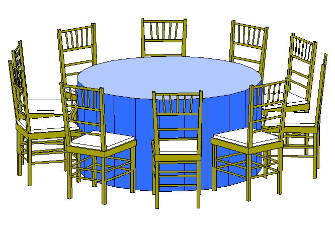 60 Round Category Tables